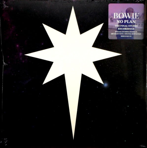 BOWIE, DAVID no plan - black vinyl 12""