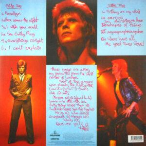 BOWIE, DAVID pinups - 180g vinyl LP