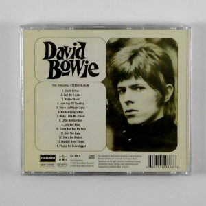 BOWIE, DAVID david bowie CD back