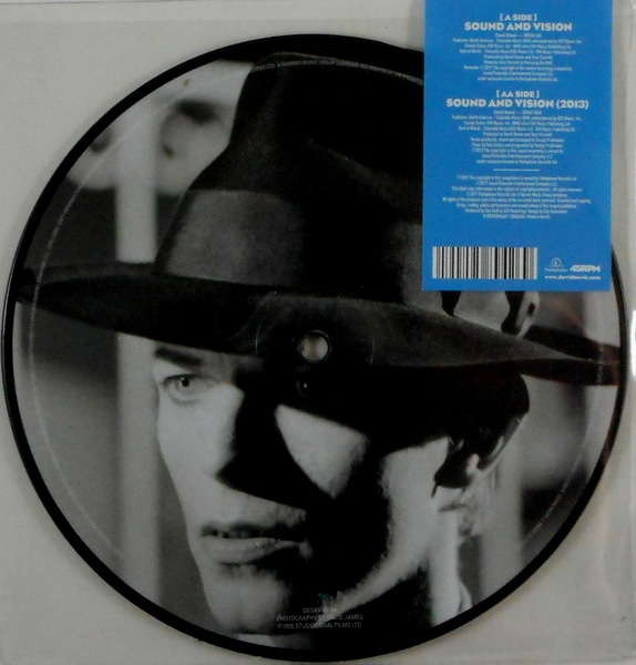 """BOWIE, DAVID sound and vision - pic disc 7"""""""