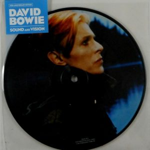 BOWIE, DAVID sound and vision - pic disc 7""