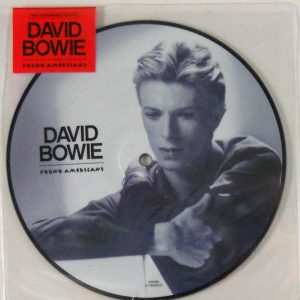 "BOWIE, DAVID young americans - pic disc 7"" inch"