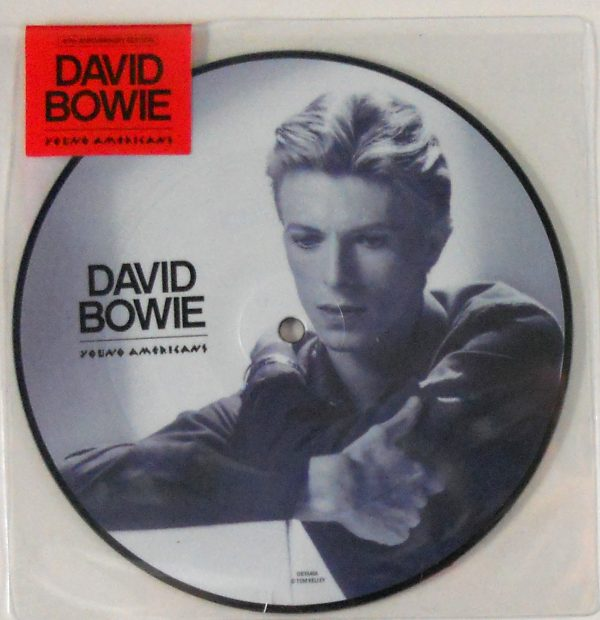 """BOWIE, DAVID young americans - pic disc 7"""" inch"""
