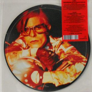 "BOWIE, DAVID young americans - pic disc 7"" inch back"