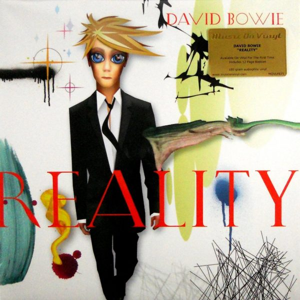BOWIE, DAVID reality lp