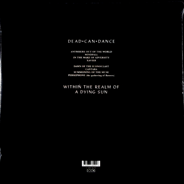 DEAD CAN DANCE within the realm of a dying sun LP