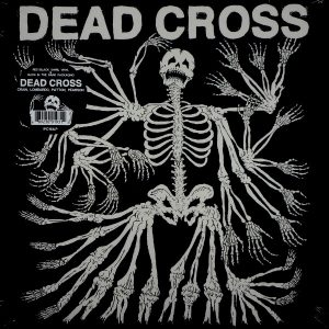 DEAD CROSS dead cross - red/black swirl LP LP