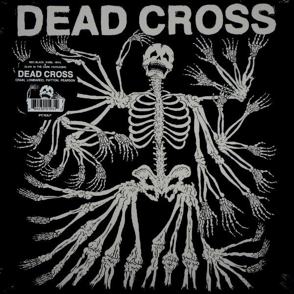 DEAD CROSS dead cross - red/black swirl LP LP