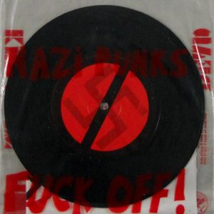 "DEAD KENNEDYS nazi punks fuck off 7"" inch back"