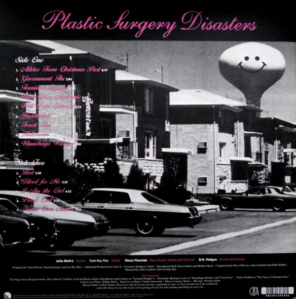 dead kennedys plastic surgery disasters grey lp