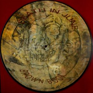 DEATH IN JUNE brown book - pic disc LP