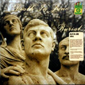 DEATH IN JUNE burial - col vinyl LP
