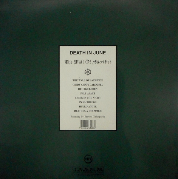 DEATH IN JUNE the wall of sacrifice - pic disc LP