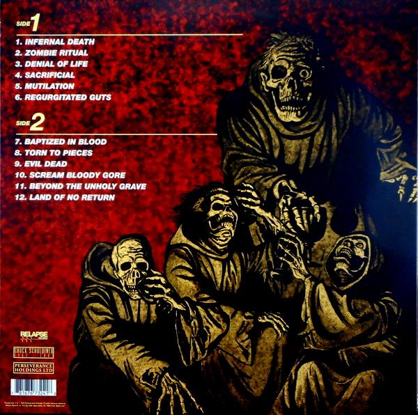 DEATH scream bloody gore LP