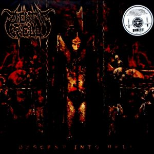 DEATH YELL descent into hell LP
