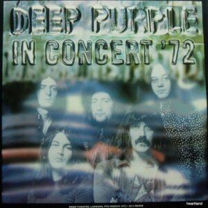 deep purple in concert lp