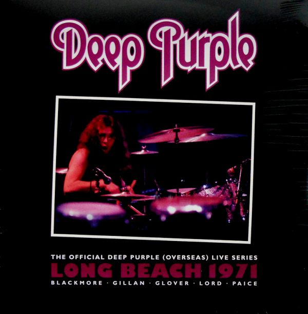 DEEP PURPLE live in long beach 1971 LP