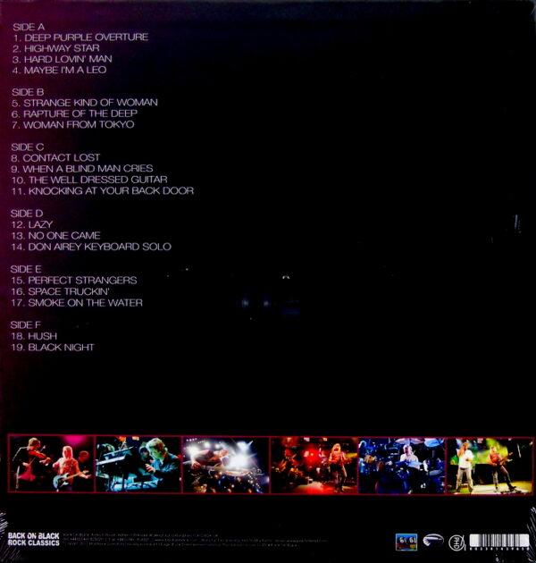 DEEP PURPLE orchestra live in switzerland - box set LP BACK