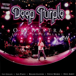 DEEP PURPLE orchestra live in switzerland - box set LP