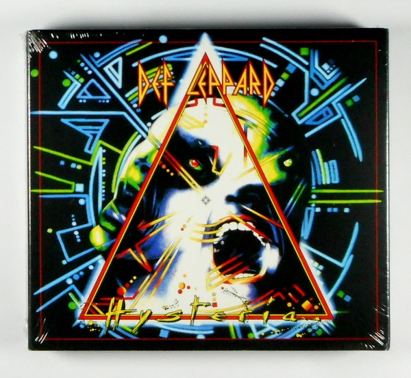 DEF LEPPARD hysteria - deluxe cd CD