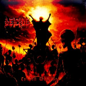DEICIDE to hell with god - col vinyl LP