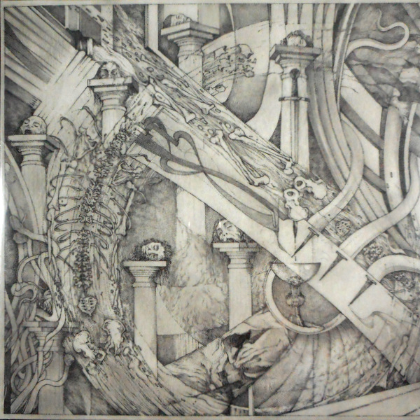DEVIL'S BLOOD, THE tabula rasa or death and the seven pillars LP