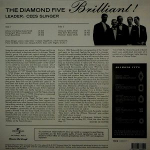 DIAMOND FIVE, THE brilliant! LP