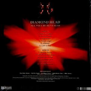 DIAMOND HEAD all will be revealed LP
