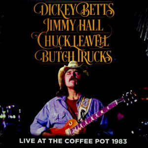 BETTS, DICKEY live at the coffee pot 1983 LP