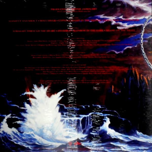 DIO holy diver - col vinyl LP