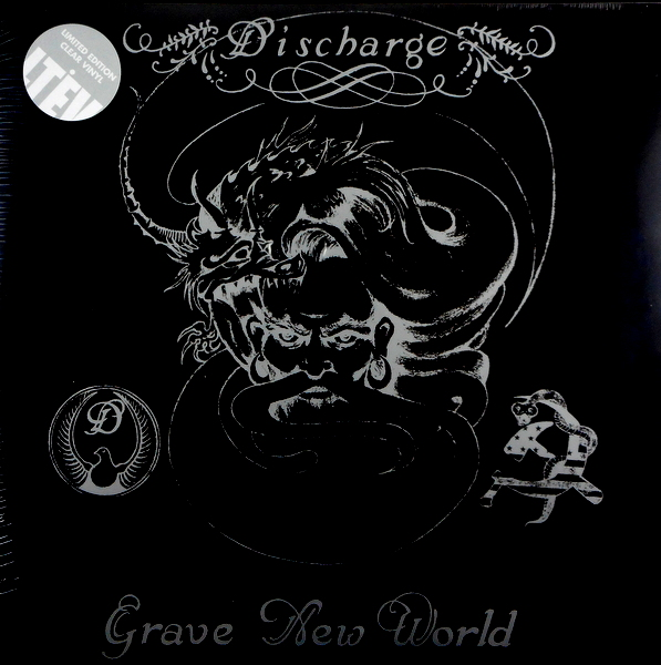 DISCHARGE grave new world LP