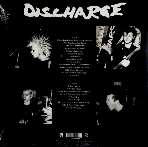 DISCHARGE hear nothing see nothing say nothing LP