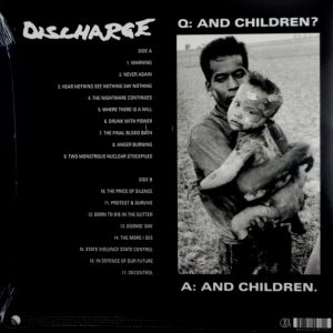 DISCHARGE never again LP