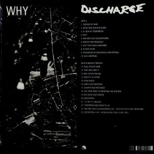 DISCHARGE why LP