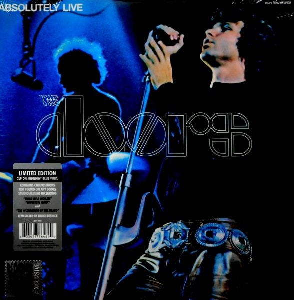 DOORS, THE absolutely live - col vinyl LP