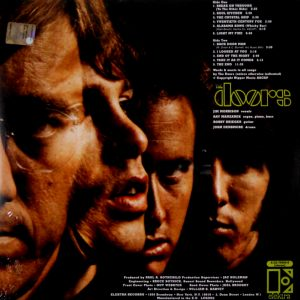 DOORS, THE self titled LP BACK