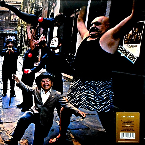 DOORS, THE strange days - Mono LP LP