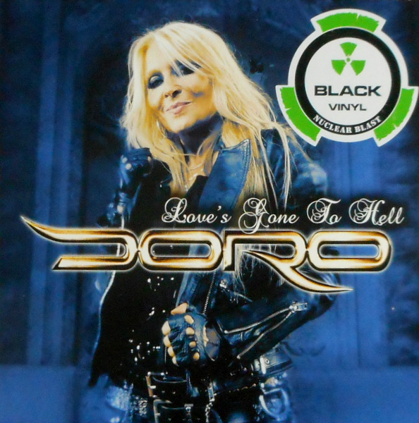 """DORO love's gone to hell 7"""""""