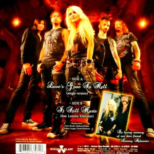 DORO love's gone to hell 7""
