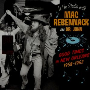 DR. JOHN in the studio with mac rebennack LP