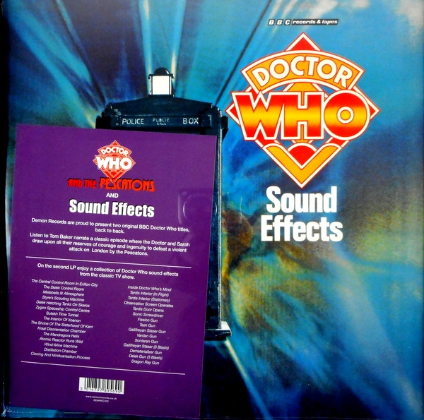 VARIOUS ARTISTS doctor who and the pescatons LP