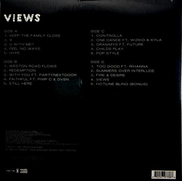 DRAKE views LP