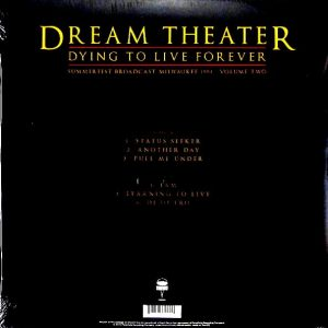 DREAM THEATER dying to live forever - vol 2 LP
