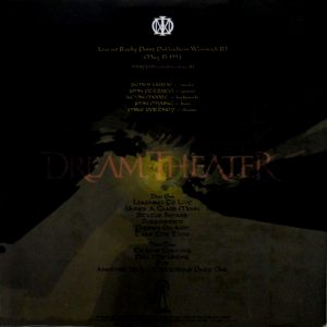 DREAM THEATER puppies on acid LP back