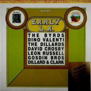 VARIOUS ARTISTS early L.A. LP