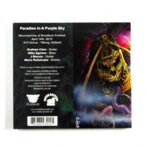 EARTHLESS/HEAVY BLANKET in a dutch haze CD