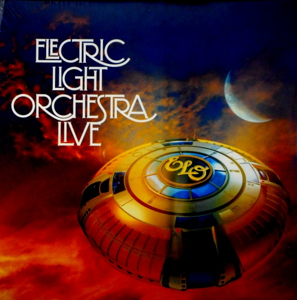 ELECTRIC LIGHT ORCHESTRA live LP