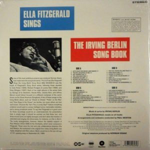 FITZGERALD, ELLA sings the irving berlin song book LP
