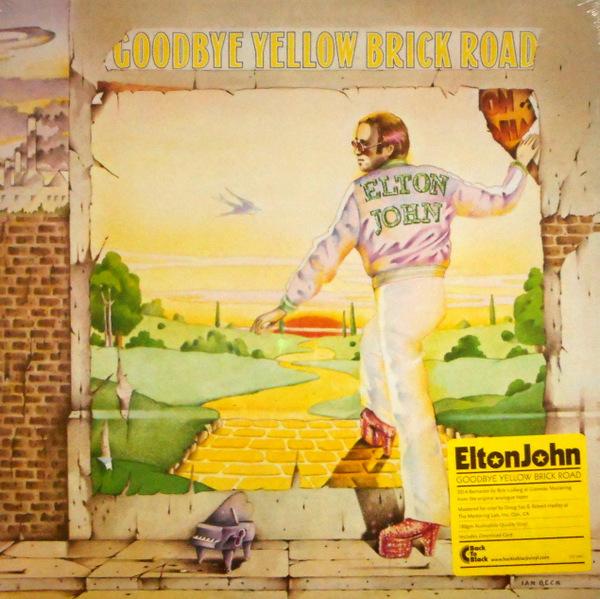JOHN, ELTON goodbye yellow brick road LP