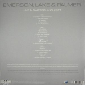 EMERSON LAKE & PALMER live in switzerland 1997 LP